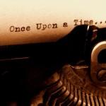 Old typewriter - first draft writing blog