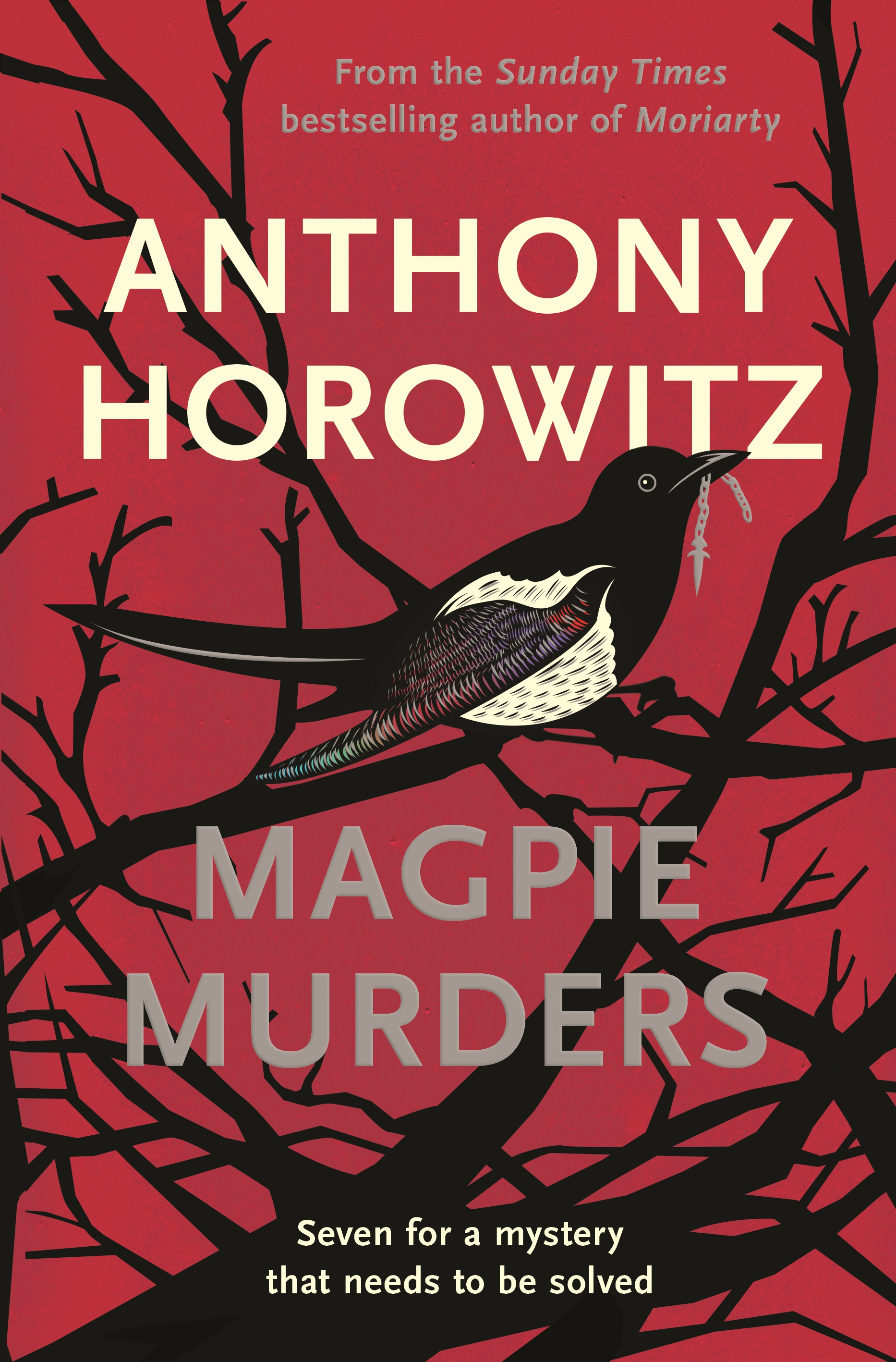 Magpie Murders, parody country crime novel by Anthony Horowitz reviewed by Charles Harris